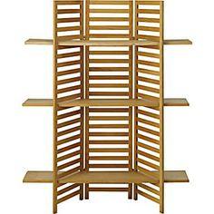 3-Panel Wood Framed Slatwall Display Found It!!