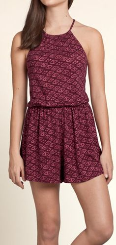 Sixon Lake Romper from Hollister. #teengirlsfashion #springfashion