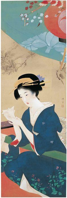 鏑木 清方 (Kiyokata Kaburaki)