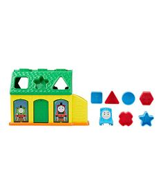 Loving this Thomas & Friends Tidmouth Shape Sorter Set on #zulily! #zulilyfinds