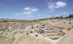 New finds at Hittite bronze 'factory' at Alacahöyük.  Excavations at Turkey's Central Anatolian province of Çorum's Alacahöyük site, one of the significant centers of the ancient Hittite civilization and Turkey's first national excavation field, have unearthed various artefacts in a 3,700 year-old bronze workshop. View of the excavation site at Alacahöyük [Credit: AA]