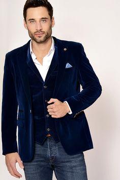 Velvet Blazer | Luxury | Menswear | Party wear | Marc Darcy Marc Darcy Menswear