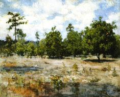 Florida Henry Ossawa Tanner (1894) Private collection Painting - oil on canvas