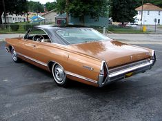 1967 Mercury Park Lane Fastback