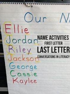 Fun Name and Letter Activities, Ideas and games for Kindergarten Back to School with a freebie! #backtoschool #nameactivities #kindergarten #ABCs #letteridentification #preschool #homeschool #conversationsinliteracy kindergarten, first grade, homeschool preschool Kindergarten Classroom Setup, Fun Classroom Activities, Kindergarten Freebies, Word Work Activities, Letter Activities, Kindergarten Reading, Kindergarten Activities, Preschool, Classroom Ideas