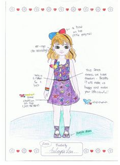 Lottie Outfit Design! Butterfly Lottie. Eulogia (age 11) China.