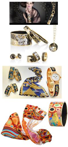 Frey Wille creates a line of Klimt inspired jewels