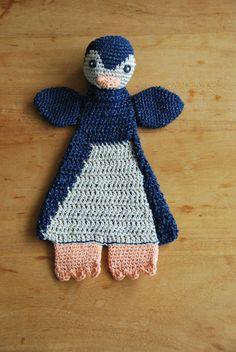 Made-by-Stientjen Pinguin, gehaakt. naar voorbeeld van Sascha.