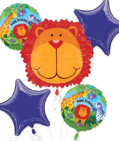 Balões Metálicos Animais