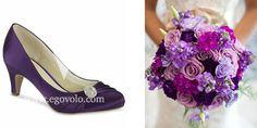 Zapatos de Novia Harmony violeta en www.egovolo.com
