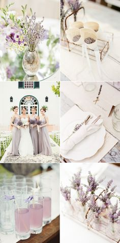 ♡ #Lavender #wedding