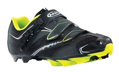 Cyklistické tretry Northwave Scorpius S.R.S. - black/yellow fluo