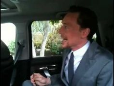 Tom Hiddleston before Avengers premiere.  By the way, I have an army.  He's too cute.