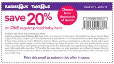 babies r us 20 off coupon any one item