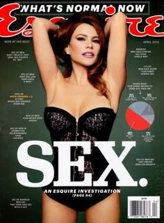 """Why the Esquire Sofía Vergara Interview Fails: Perpetuating the """"Hot Latina Sex Object"""" (click through to read blog post)"""