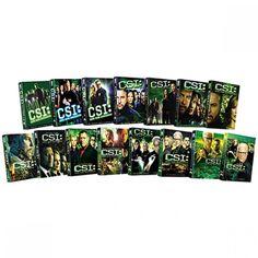 CSI: Crime Scene Investigation - Fifteen Season Pack DVD