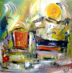 Artwork >> Muriel Cayet >> the ford