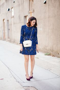 This gorgeous blue dress is really perfect