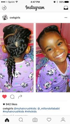 Lil Girl Hairstyles, Girls Natural Hairstyles, Natural Hairstyles For Kids, Kids Braided Hairstyles, Princess Hairstyles, Natural Hair Styles, Toddler Hairstyles, Teenage Hairstyles, School Hairstyles
