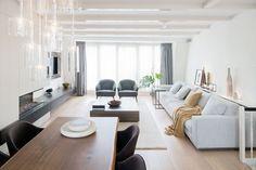 Un #salón-comedor funcional, acogedor y #lujoso