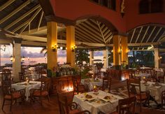 Fine international cuisine served alongside amazing views of the beach. | Sandals Resorts | Jamaica