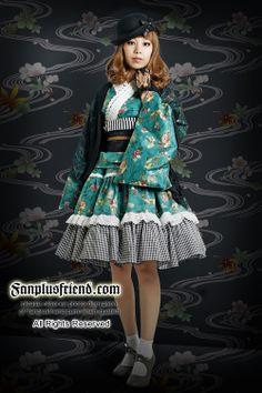 Fanplusfriend Garden Wa/QI Lolita