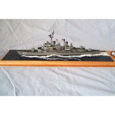 USS Forrest Sherman DD931 1/350 Scale Resin Model Ship Kit Model Ship Kits, Model Ships, Fifth Business, Scale Models, Resin, Auction, Concept Ships, Scale Model