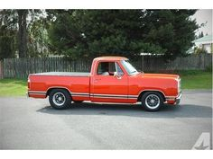 dodge with air ride Vintage Pickup Trucks, Classic Pickup Trucks, Dodge Pickup, Dodge Trucks, Hot Rod Trucks, Cool Trucks, Dodge Ramcharger, Muscle Truck, Little Truck