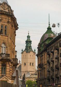 Lviv, W Ukraine, from Iryna with love