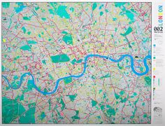 London cycle map