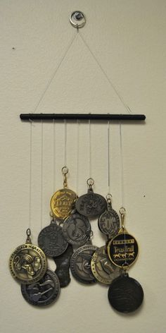 The Art of Fit: Medal Wind Chimes - Austin Fit - December 2013