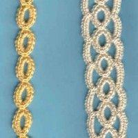 Bordered Linked Rings Bookmark | Crochet Free Pattern