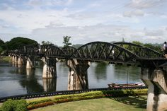 Thailand. Bridge Over The River Kwai. We spent the day on elephants wandering around the river banks followed by a lovely lunch riverside.