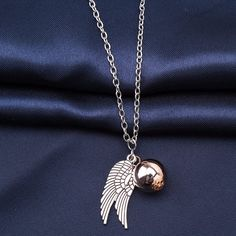 Harry Potter Golden Snitch Necklace & Pendent - Big Star Trading Store