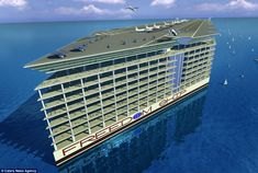 ARCHITECTURE – Designed by the Florida-based Freedom Ship International (FSI), the floating city is set to cost $10 billion and weigh 2.7 million tonnes - ...