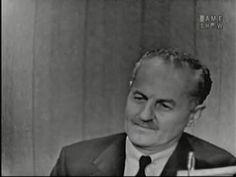 What's My Line? - Darryl F. Zanuck; Sir Cedric Hardwicke [panel]