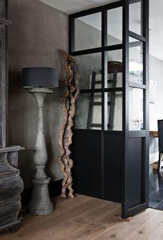 Refined Palette of Grays in Dutch House by Designer Ineke van den Berg | Interior Design Files