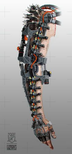 Robot Hand (exoskeleton) by Rofelrolf.deviantart.com on @deviantART