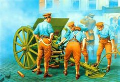 The bombardment of Liberty Hall, 25 April Easter Rising in Ireland Military Units, Military Art, Military Uniforms, Turkish War Of Independence, Easter Rising, Royal Engineers, American War, World War One, Warfare