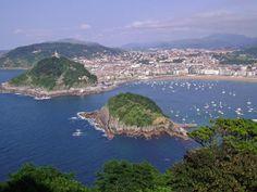 View overlooking San Sebastian
