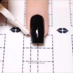 nail art videos * nail art designs ` nail art ` nail art designs for spring ` nail art videos ` nail art designs easy ` nail art designs summer ` nail art diy ` nail art tutorial Nail Art Hacks, Nail Art Diy, Easy Nail Art, Cute Nails, Pretty Nails, Pretty Eyes, Nails Factory, Nail Art Stencils, Nagellack Design