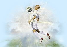 Real Madrid - Fútbol / Web Oficial - Champions League 2 on Behance Champions League, Behance, Hs Sports, Real Madrid Football