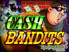 New Slot at #SpringbokCasino  The South African friendly Springbok Casino has launched a brand new cops-and-robbers themed #slot, #CashBandits. To celebrate the launch, Springbok Casino is offering players up to #50freespins on the game until the end of the month.  http://www.onlinecasinosonline.co.za/blog/new-slot-at-springbok-casino.html