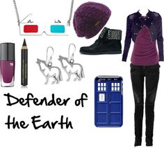 """""""Rose Tyler"""" by favourite-fictional-fashions on Polyvore"""