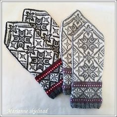 Ravelry: Stjerneglimt pattern by Marianne Skjelstad Knit Mittens, Mitten Gloves, Knitting Projects, Knitting Patterns, Fair Isle Knitting, Knitting Accessories, Drops Design, Crochet Shawl, Hand Warmers