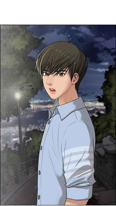 Webtoon: the secret of angel