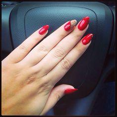 Red Sparkle Nails, Classy, Women's Fashion, Beauty, Fashion Women, Chic, Cosmetology, Womens Fashion, Feminine Fashion