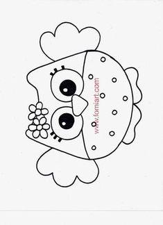 Tutorial Bolsita de Buho para Regalo en Fomi y Patrones. | Fomiart Owl Patterns, Applique Patterns, Applique Designs, Owl Crafts, Diy And Crafts, Paper Crafts, Felt Owls, Felt Animals, Felt Ornaments
