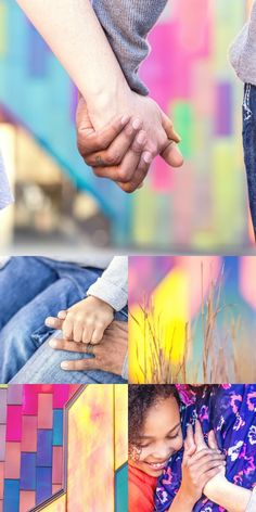 custom photography for website, website images, web design, inter-racial stock photography, bold colors, hands, holding hands, love, family