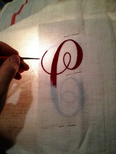 "That's My Letter: ""H"" is for Handpainted Dish Towels"